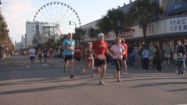 Myrtle Beach Marathon Brings Love for Running on Valentine's Day