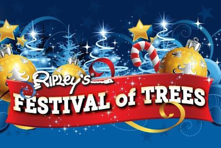 Festival of Trees Comes to Ripley's Aquarium in Myrtle Beach