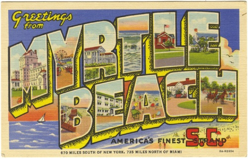 How Did Myrtle Beach Get its Name?